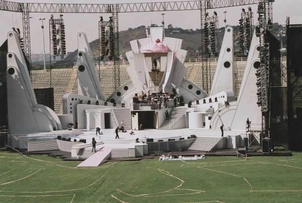 Grease, The Stadium Spectacular 2001, Johannesburg Athletic Stadium.