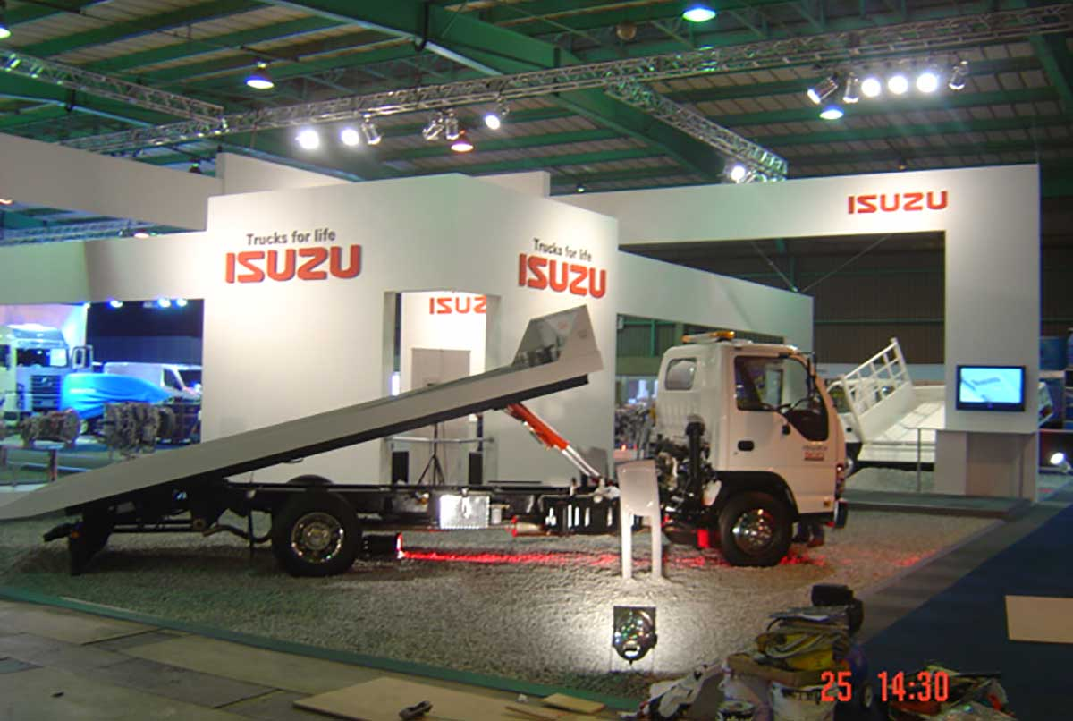 Isuzu Trucks for Life, Auto-Africa 2006, 360 Degrees Jonannesburg Expo Centre Gold Medal Achievement Award