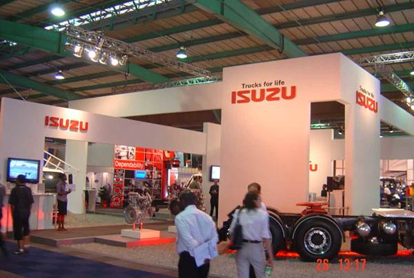 Isuzu Trucks for Life, Auto-Africa 2006, 360 Degrees Johannesburg Expo Centre Gold Medal Achievement Award
