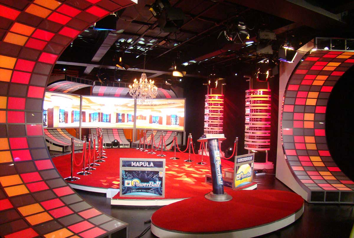 Powerball, National Lottery Game Show 2009, Red Pepper, Red Pepper Studios