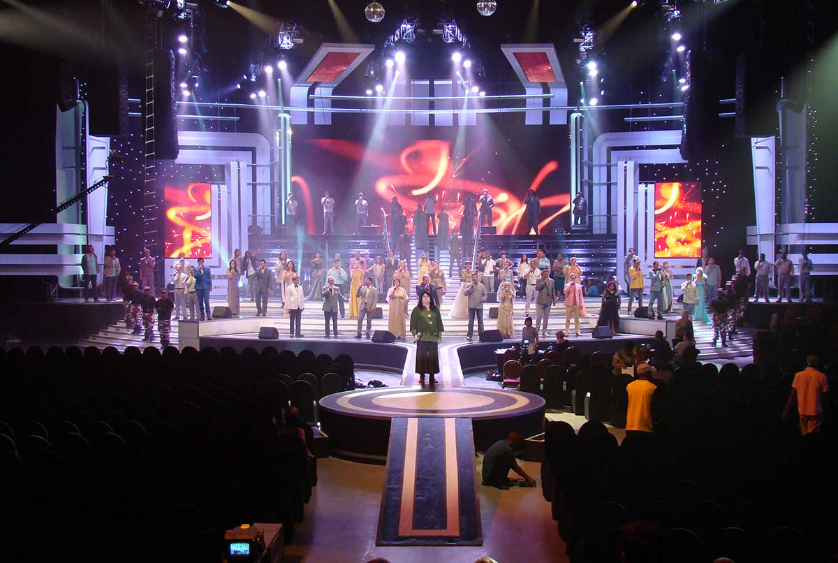 Skouspel 2012, Frontline Productions, Sun City Superbowl