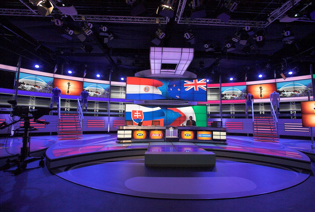 Super Sportl Soccer World Cup 2010, SuperSport Studio 6 Randburg