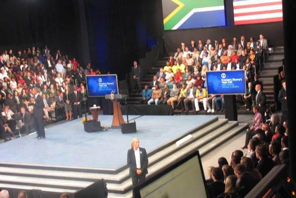 US President Obama Visit 2013 US Embassy, UJ Campus Soweto