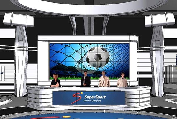 Brazil Soccer World Cup 2014, Supersport Studio 6